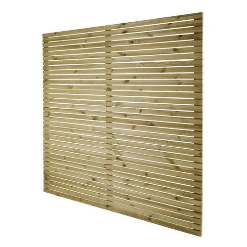 Goodhome Płot panelowy wenecki lemhi 180 x 180 x 3,6 cm (5059340046303)