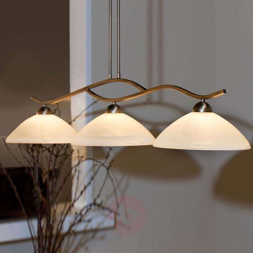 Steinhauer CAPRI lampa wisząca Brązowy, 3-punktowe - Nowoczesny - Obszar wewnętrzny - CAPRI - Czas dostawy: od 4-8 dni roboczych