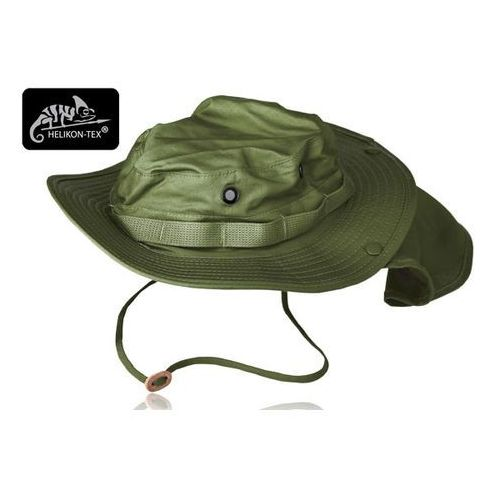 Kapelusz Helikon BOONIE - Cotton Ripstop - Olive Green