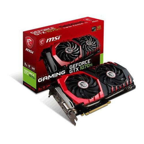 MSI GeForce GTX 1070 Ti GAMING 8GB DDR5 DVI-D/HDMI/3DP