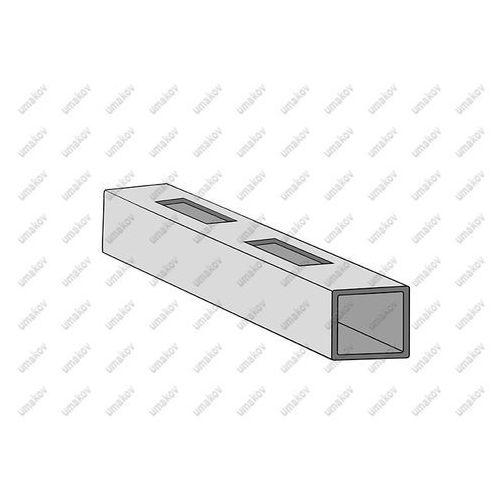 Pret otworowany 30x30x2, d70x15, a140, L2000mm