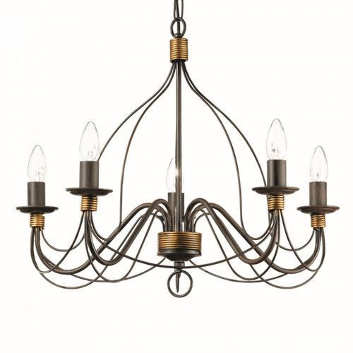Ideal Lux Lampa wisząca Corte SP5 - 057187, IL 057187