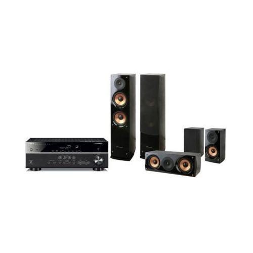 Yamaha Kino domowe musiccast rx-v485 + pure acoustics nova 6 czarny