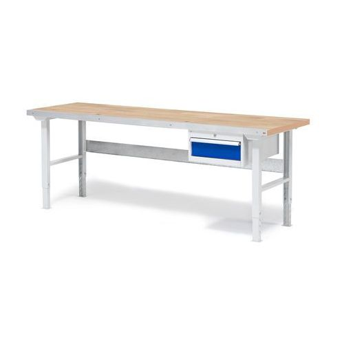 Aj produkty Stół warsztatowy solid, z szufladą, 500 kg, 2000x800 mm, dąb