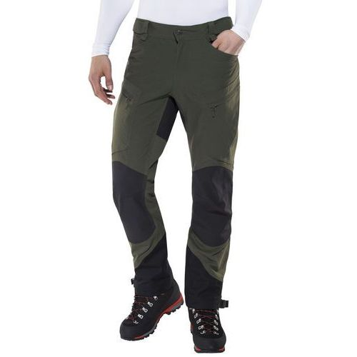 Haglöfs Rugged II Mountain Spodnie długie Mężczyźni czarny/oliwkowy S 2018 Spodnie turystyczne, 1 rozmiar