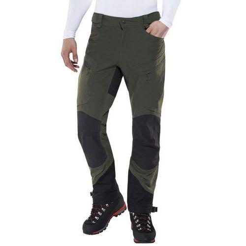 Haglöfs Rugged II Mountain Spodnie długie Mężczyźni czarny/oliwkowy XL 2018 Spodnie turystyczne