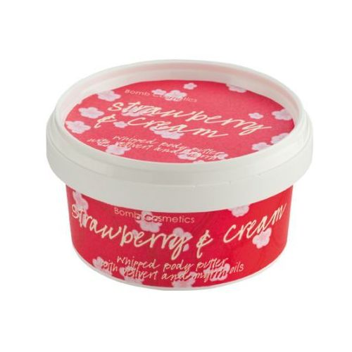Bomb Cosmetics Strawberry and Cream - masło do ciała 210ml