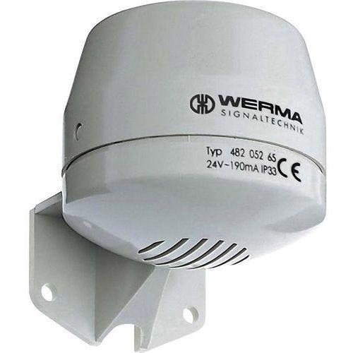 Werma signaltechnik Syrena sygnalizacyjna  482.052.55 dźwięk ciągły 24 v/dc 92 db (4016138313727)