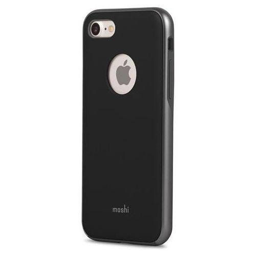 Moshi iGlaze iPhone 7 4,7'' - Metro Black, kolor Moshi
