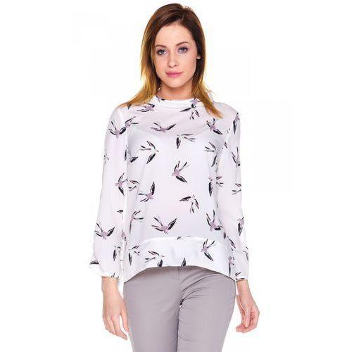 Zwiewna bluzka w jaskółki -  marki Duet woman