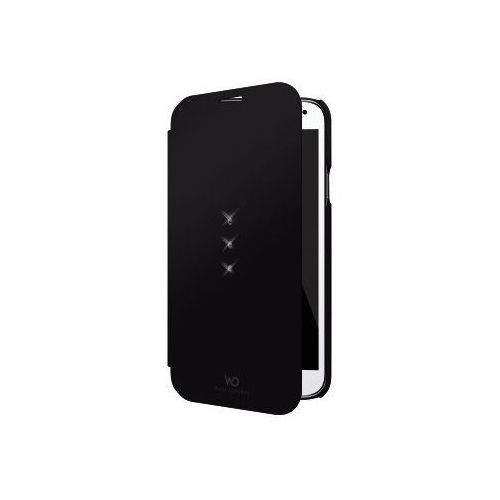 Etui WHITE DIAMONDS do Samsung S5 Mini Booklet Czarny