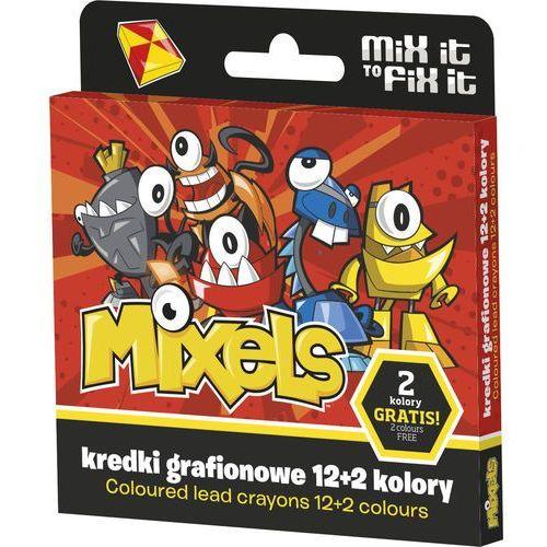 Kredki grafionowe ASTRA Mixels 12 kolorów + 2 kolory, kup u jednego z partnerów