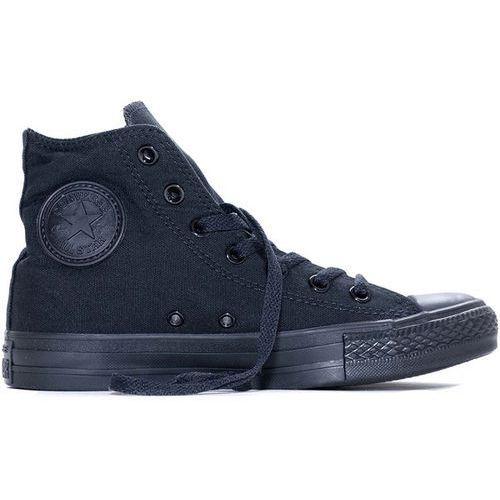 Buty  - chuck taylor classic colors black monochrome hi (bk monoch) rozmiar: 36, Converse