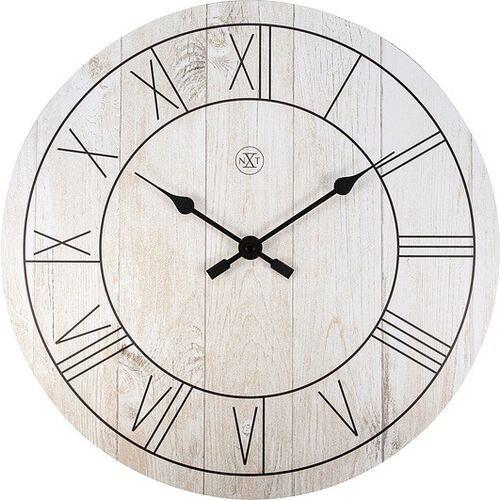 Zegar ścienny paul jasny drewniany