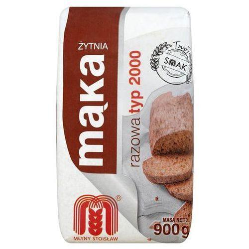 Stoisław Młyny mąka żytnia razowa typ 2000 900 g (5900563000620)