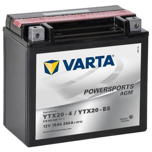 Varta akumulator agm 12 v 18 ah ytx20-4 / ytx20-bs
