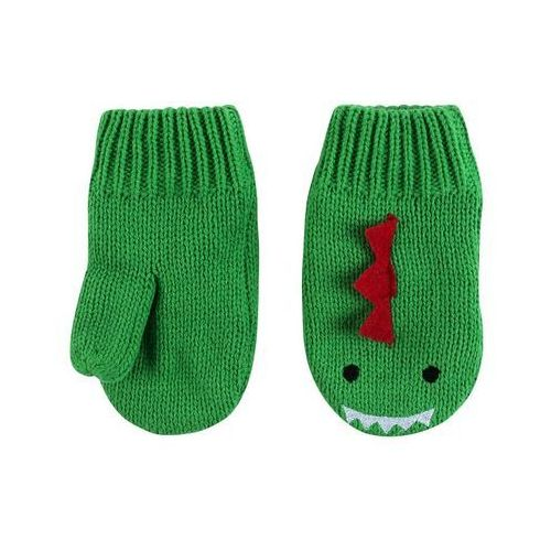rękawiczki dziecięce dino 6-12m marki Zoocchini