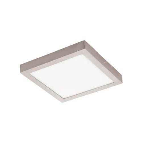 Eglo Lampa sufitowa fueva 1 kwadratowa 30 cm - nikiel satynowy promocja!, 94528