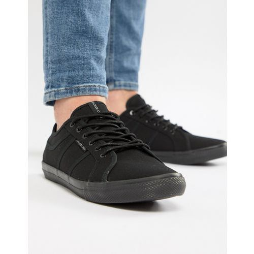 canvas trainer - black marki Jack & jones