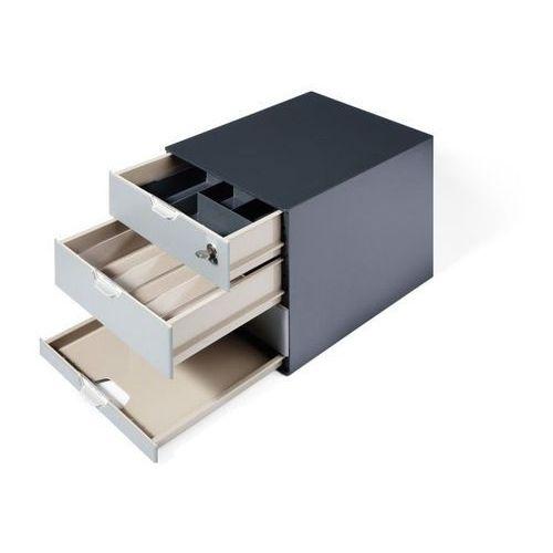 Organizer Do Kawy DURABLE Coffee Point Box Antracytowy (4005546978161)