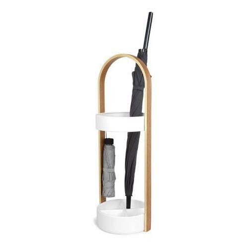 D2.design Stojak na parasole hub biały/naturalny - d2 design - zapytaj o rabat!