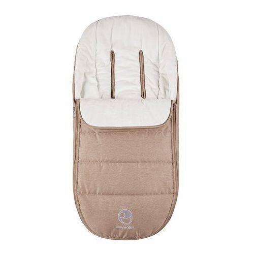 Śpiworek do wózka na zimę uniwersalny Harvey Easywalker - Soft Caramel EHA10303 (8719033991323)