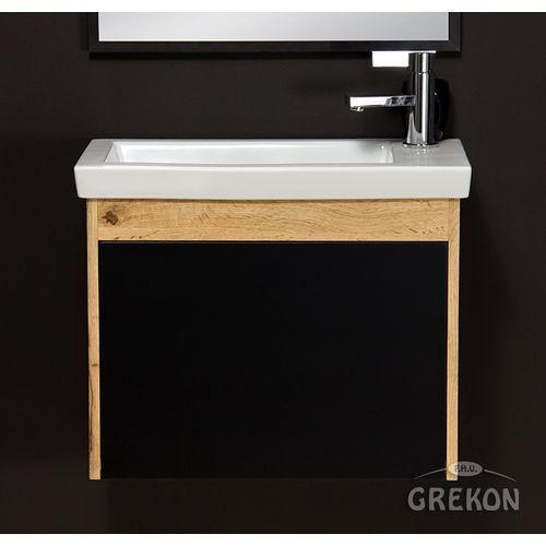 Szafka łazienkowa z umywalką 60/31 seria platum c marki Gante
