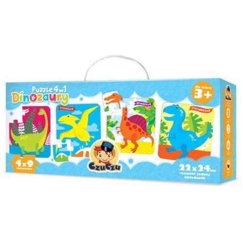 Czuczu puzzle 4w1 dinozaury marki Bright junior media
