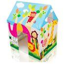 Domek dla dzieci z okienkiem dżungla 95 x 75 x 107 cm INTEX 45642 zdjęcie 2