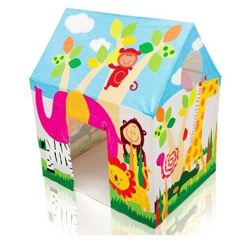 Domek dla dzieci z okienkiem dżungla 95 x 75 x 107 cm 45642 marki Intex