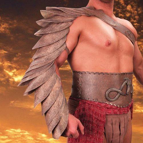 Płatnerze Osłona ramienia gladiatora manica z filmu spartakus krew i piach (ws884506)