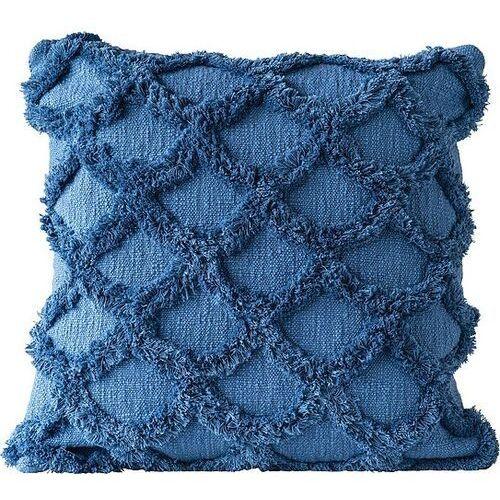 Poduszka dekoracyjna niebieska bawełniana marki Bloomingville