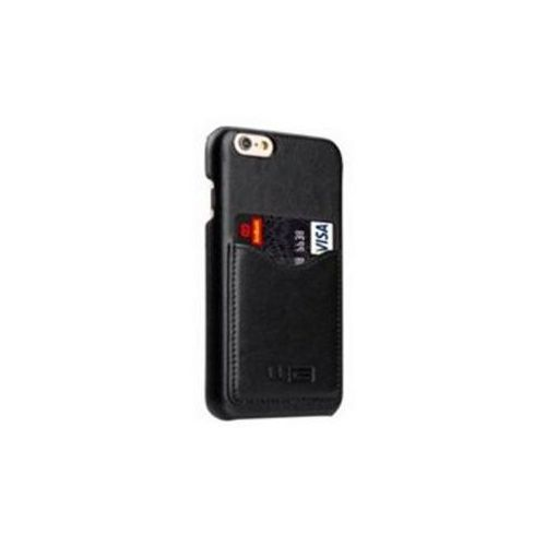 Etui WG Leather Snap do Apple iPhone 7 Czarny WINPULEIP7BL (8591194077258)