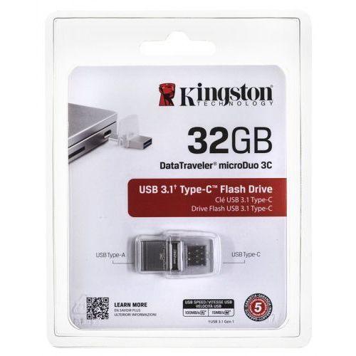 Kingston Pendrive 32gb usb c 3.0 dtduo3c / 32gb