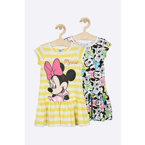 Blukids - sukienka dziecięca disney mickey mouse 98-128 cm (2-pack)