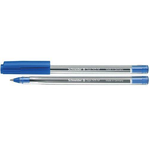 Długopis SCHNEIDER Tops 505, M, niebieski (4004675004628)