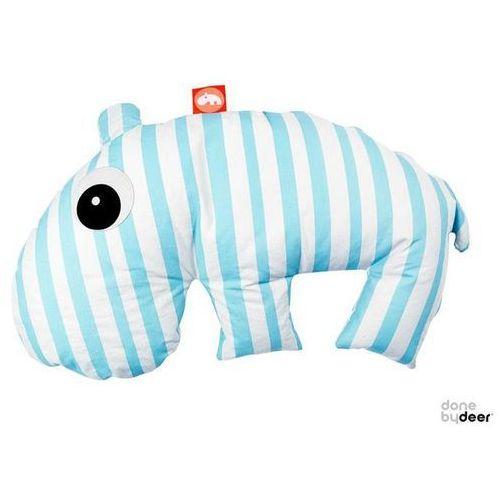 DONE BY DEER Poduszka 3 w 1 - do karmienia i do zabawy - Hipopotam - sprawdź w wybranym sklepie