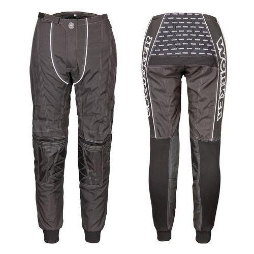 Worker Spodnie motocross razzor senior, czarny, xxl (8595153627089)