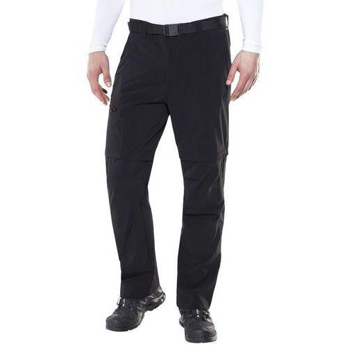 Maier sports tajo 2 spodnie długie mężczyźni czarny 50-krótkie 2018 spodnie z odpinanymi nogawkami