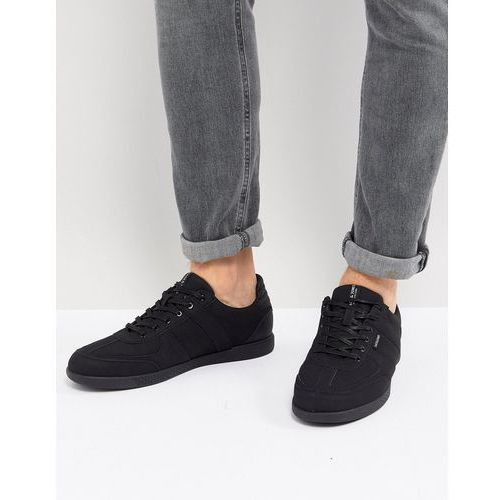 trainers in triple black mesh - black, Jack & jones