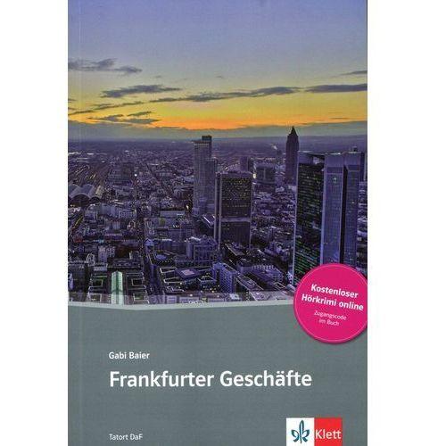 Frankfurter Geschäfte, m. Online-Angebot (9783125560451)