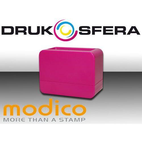 Modico Pieczątka nomo 3 1/2 różowy połysk pieczątka modico nomo 3 1/2 różowy połysk
