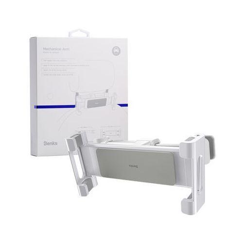 Uchwyt h14 car backseat telefon/tablet-white - white marki Benks