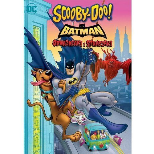 SCOOBY-DOO! I BATMAN: ODWAŻNIAKI I STRASZAKI (Płyta DVD) (7321909348318)