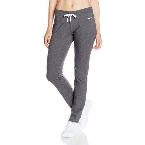 Nike damskie spodnie treningowe długie jersey oh, szary, m