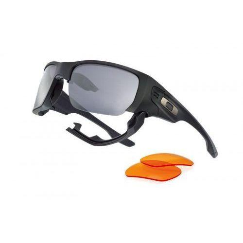 Okulary Oakley SI Style Switch Matte Black Warm Grey & Persimmon OO9194-11