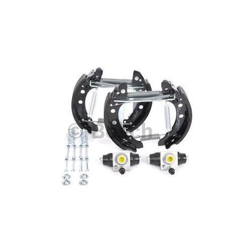 Bosch  kit superpro, zestaw szczek hamulcowych + cylinderek hamulca koła; zamontowany; z tyłu, 0 204 114 053