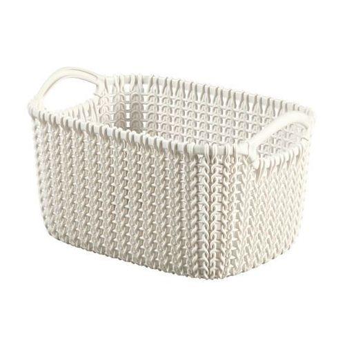 Curver Koszyk knit xs kremowy prostokątny - 226394- natychmiastowa wysyłka, ponad 4000 punktów odbioru!