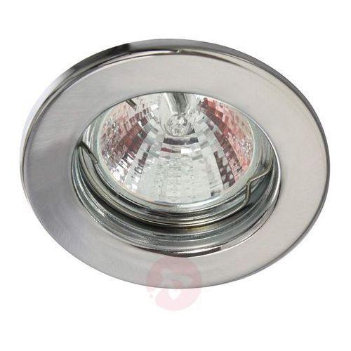 Reflektor wpuszczany sztywny chrom matowy marki Heitronic