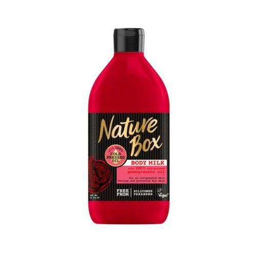 NATURE BOX 385ml Mleczko do ciała z olejem z granatu
